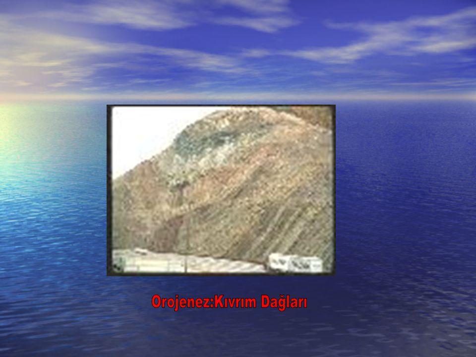 Orojenez:Kıvrım Dağları