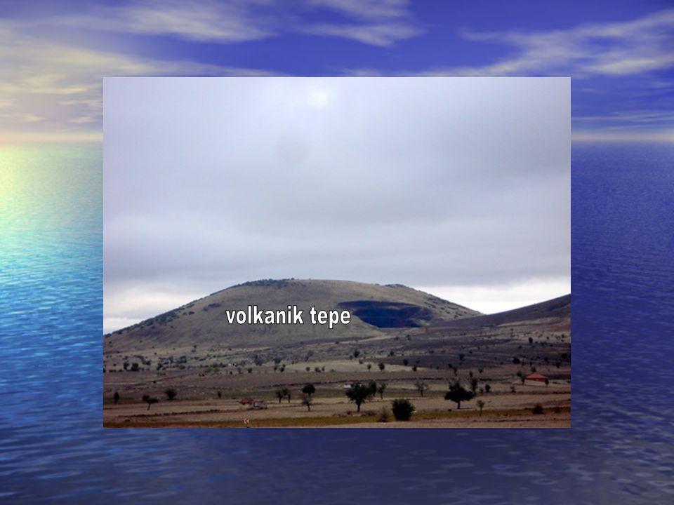 volkanik tepe