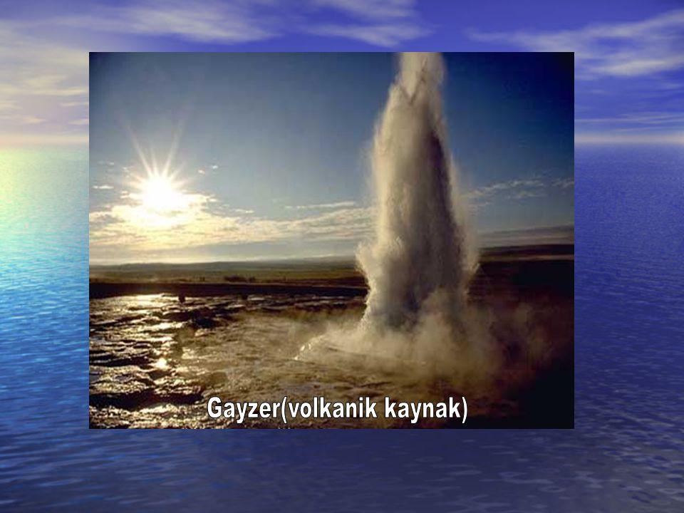 Gayzer(volkanik kaynak)