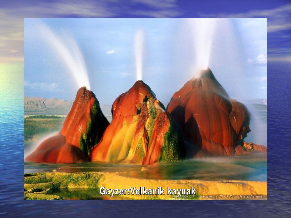 Gayzer:Volkanik kaynak