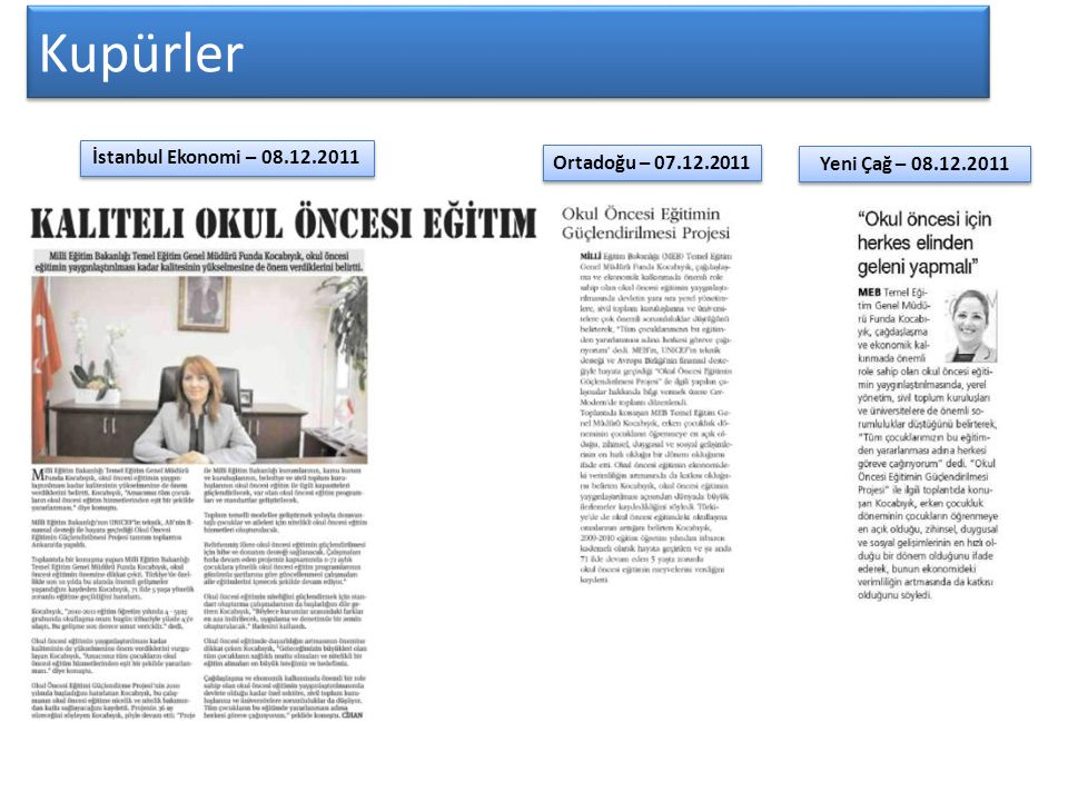 Kupürler İstanbul Ekonomi – 08.12.2011 Ortadoğu – 07.12.2011