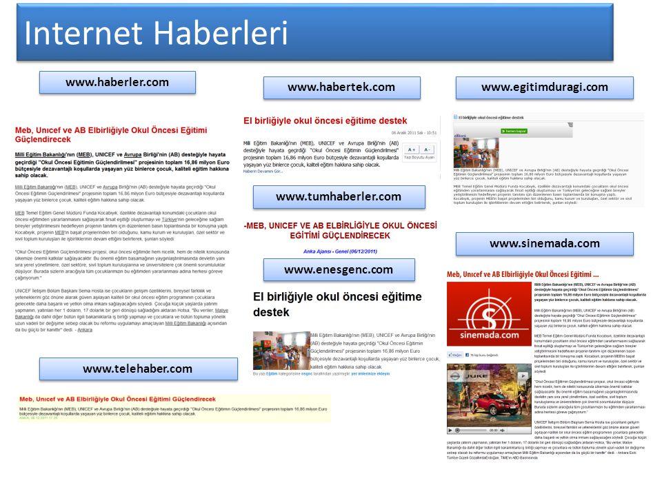 Internet Haberleri www.haberler.com www.habertek.com