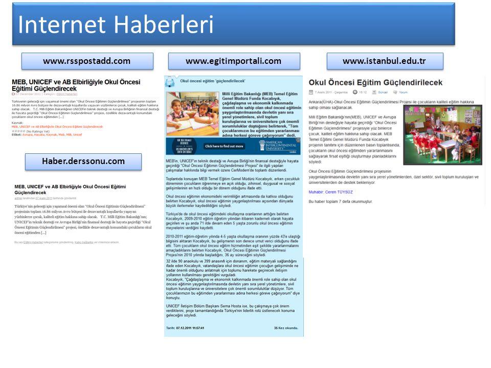 Internet Haberleri www.rsspostadd.com www.egitimportali.com