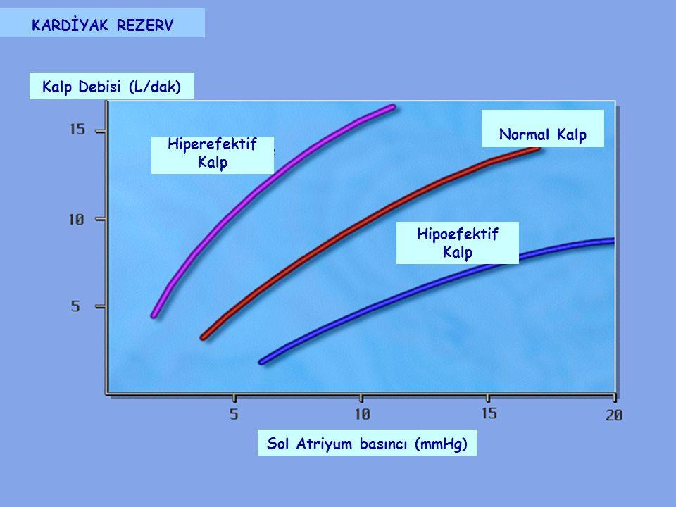 Sol Atriyum basıncı (mmHg)