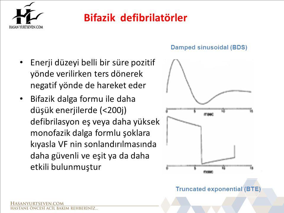 Bifazik defibrilatörler