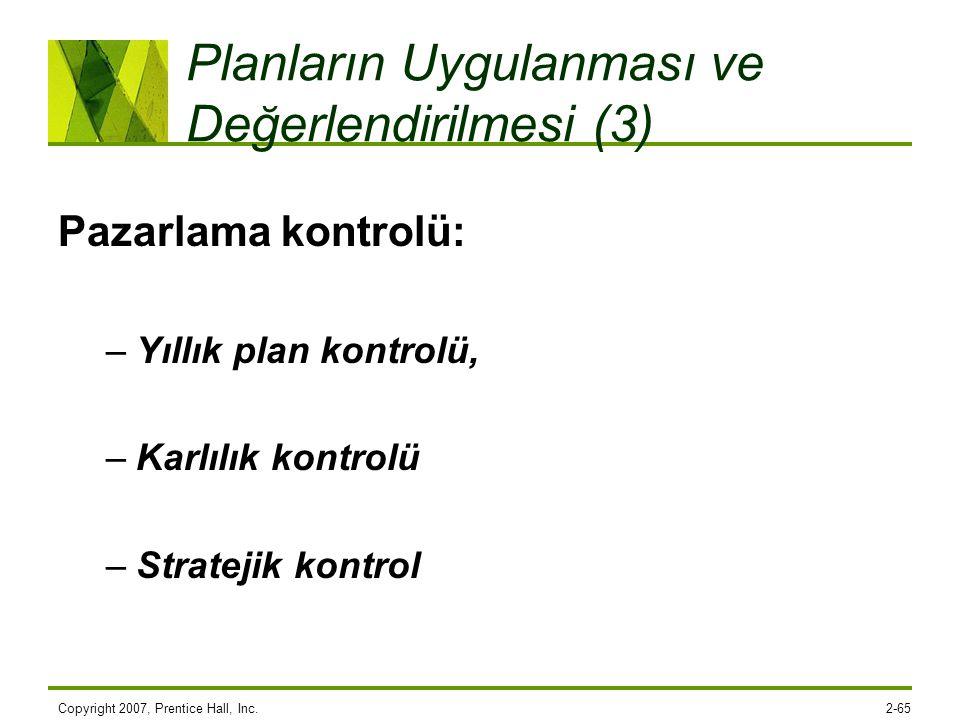 Planların Uygulanması ve Değerlendirilmesi (3)