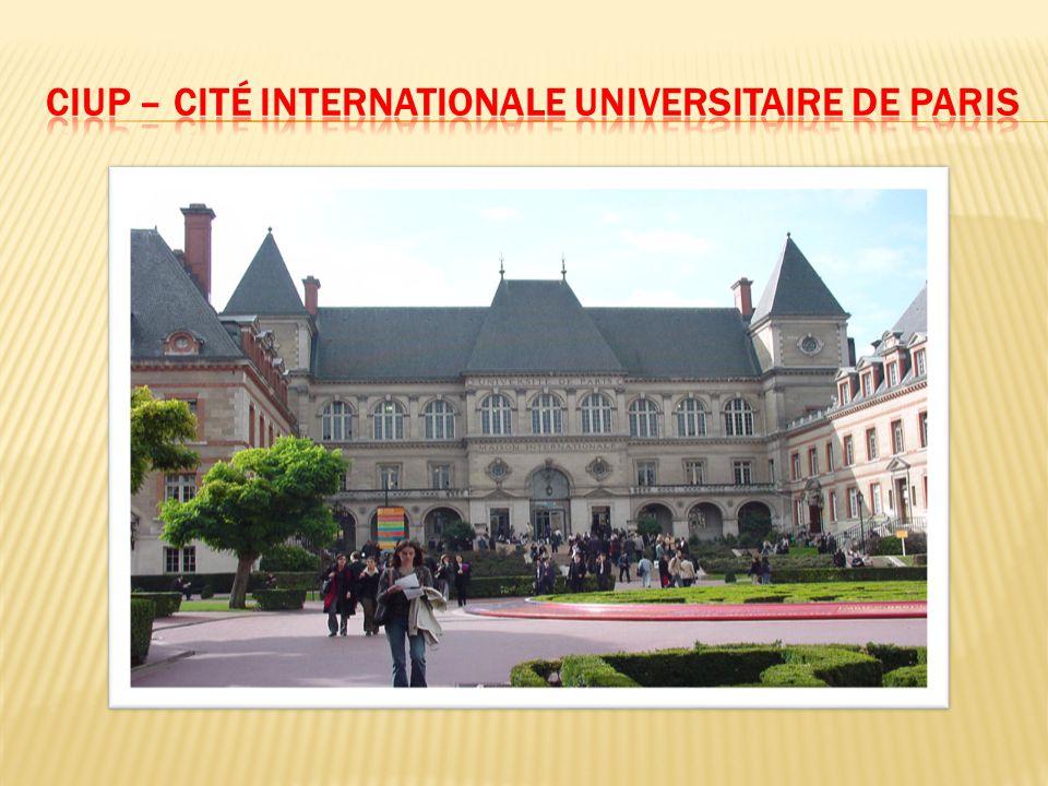 CIUP – Cité InternatIonale universItaIre de parIs