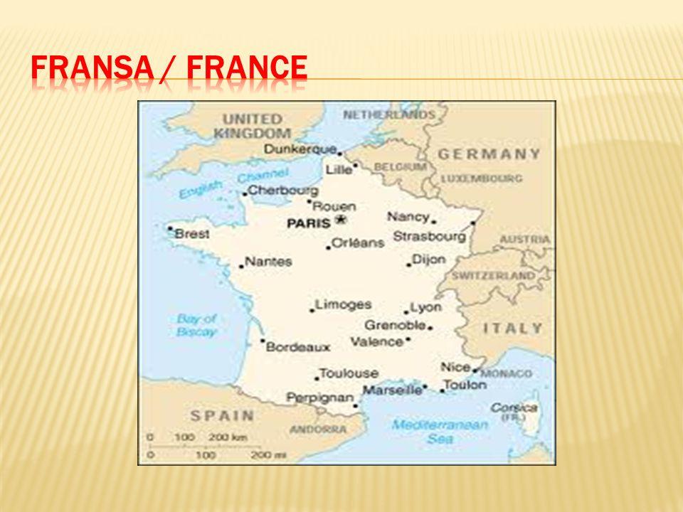FRANSA / FRANCE