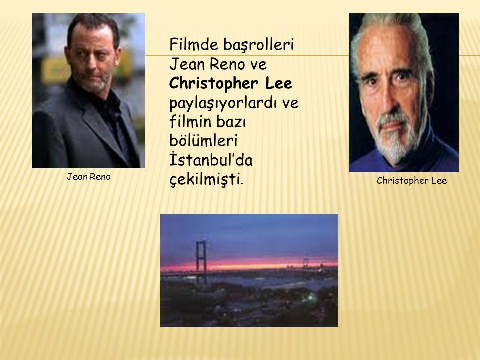 Filmde başrolleri Jean Reno ve Christopher Lee paylaşıyorlardı ve filmin bazı bölümleri İstanbul'da çekilmişti.