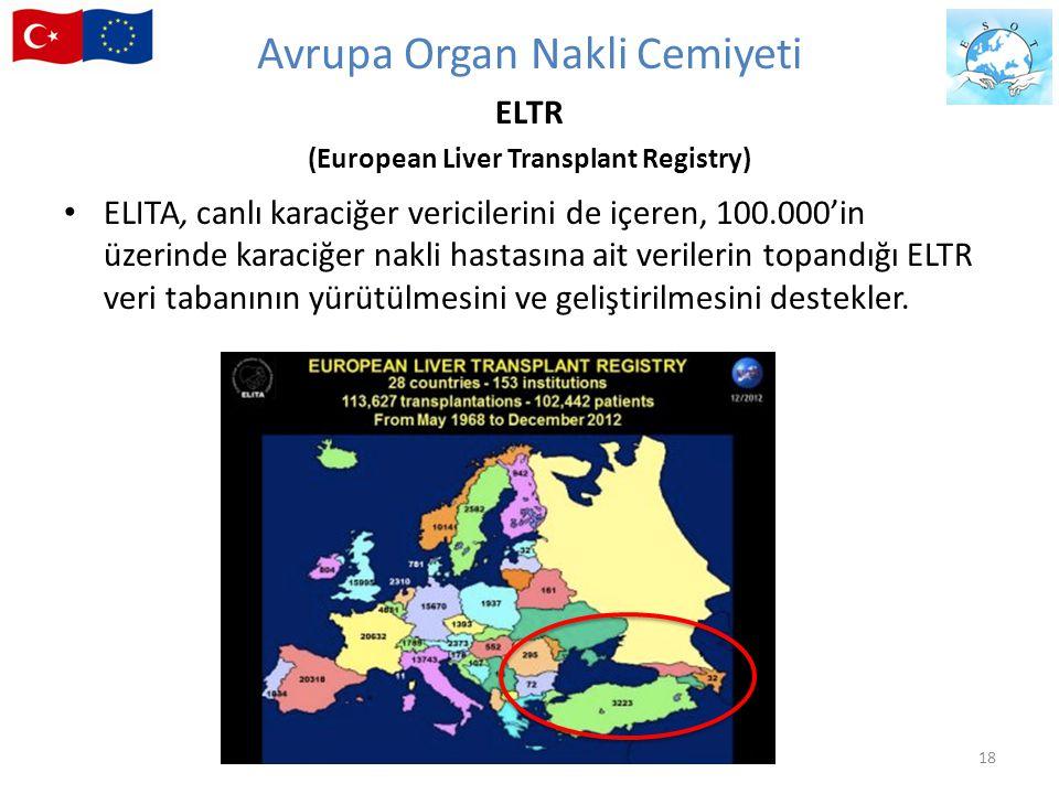 Avrupa Organ Nakli Cemiyeti ELTR (European Liver Transplant Registry)