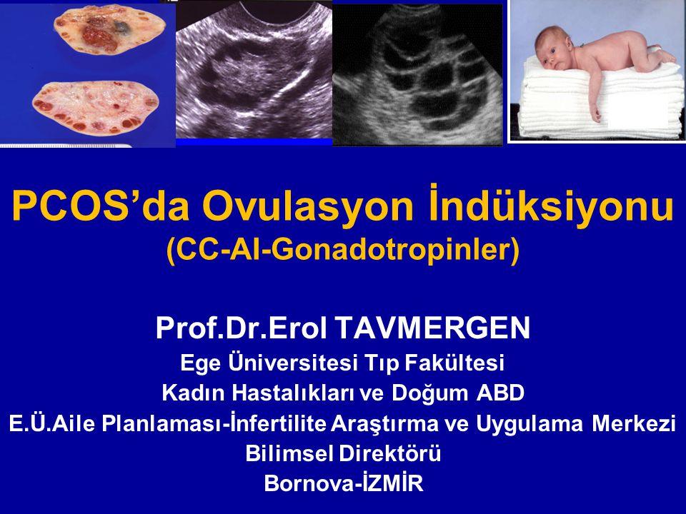PCOS'da Ovulasyon İndüksiyonu (CC-AI-Gonadotropinler)