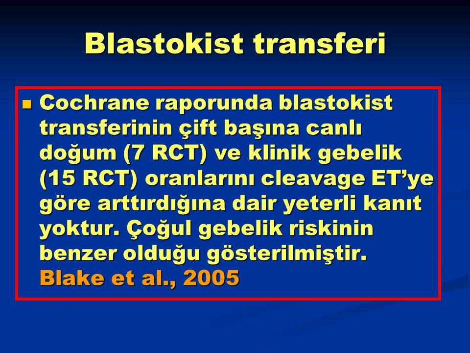 Blastokist transferi