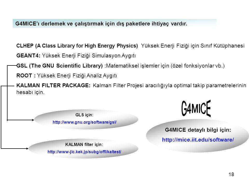 G4MICE detaylı bilgi için: