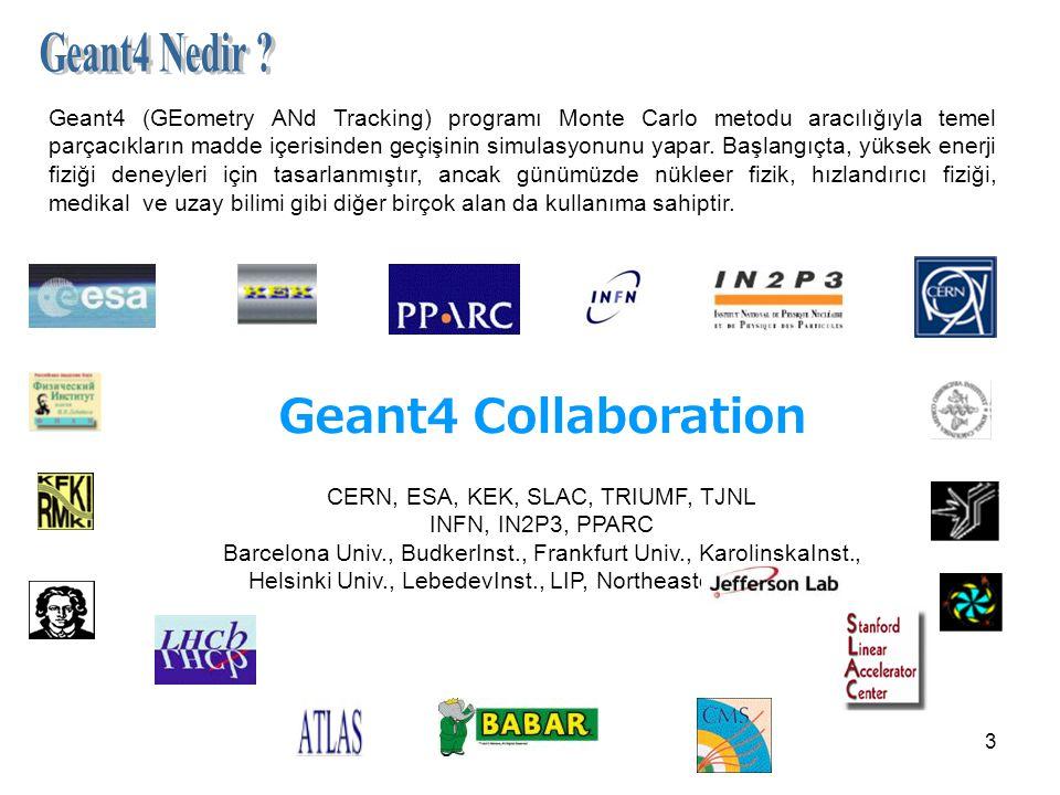 CERN, ESA, KEK, SLAC, TRIUMF, TJNL