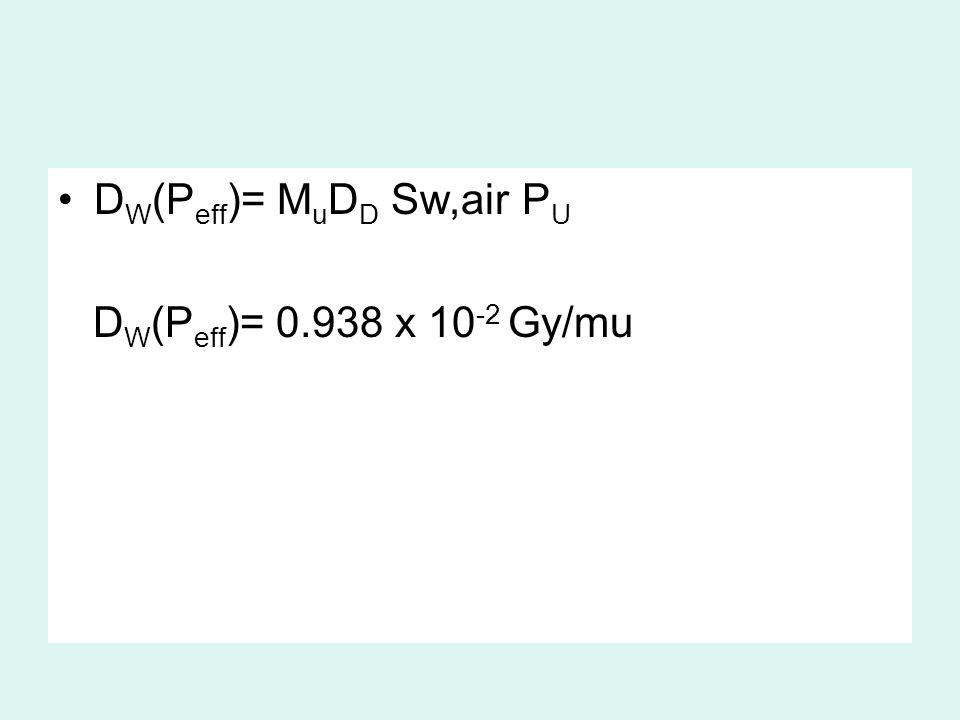DW(Peff)= MuDD Sw,air PU