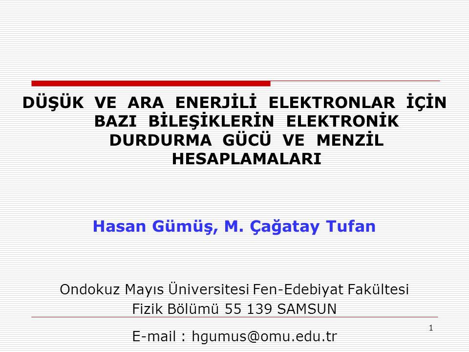 Hasan Gümüş, M. Çağatay Tufan
