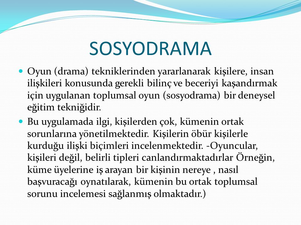 SOSYODRAMA