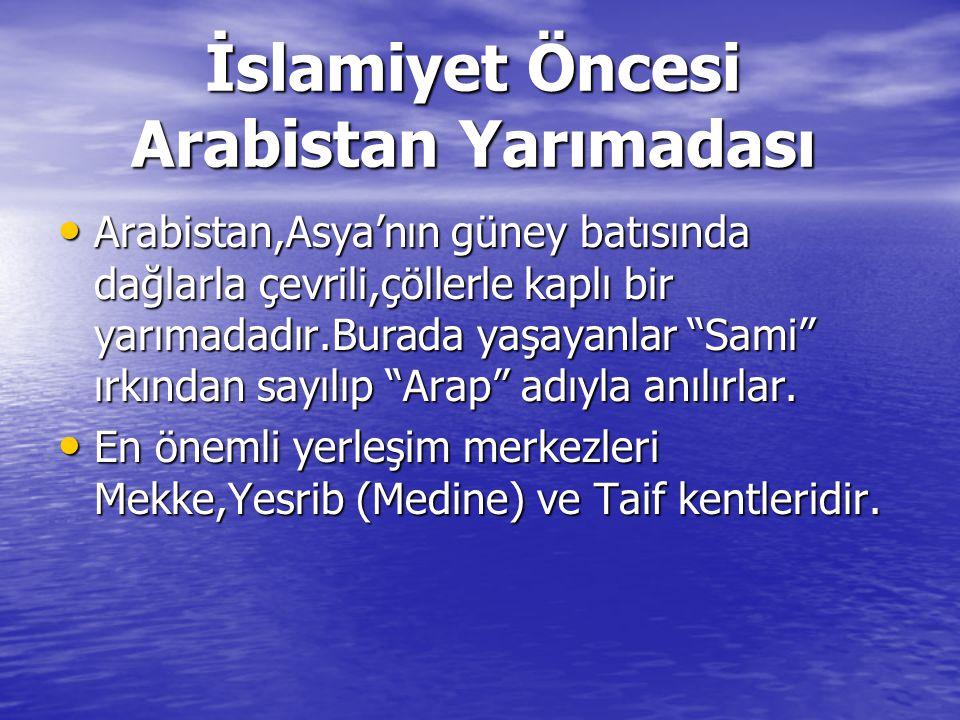 İslamiyet Öncesi Arabistan Yarımadası