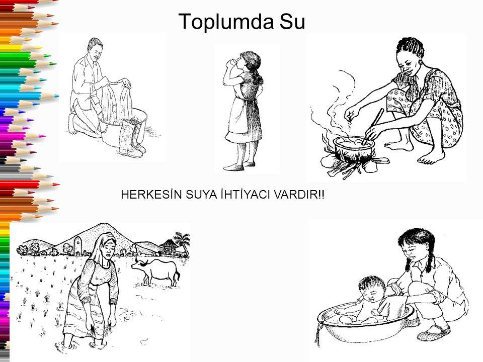 Toplumda Su HERKESİN SUYA İHTİYACI VARDIR!!
