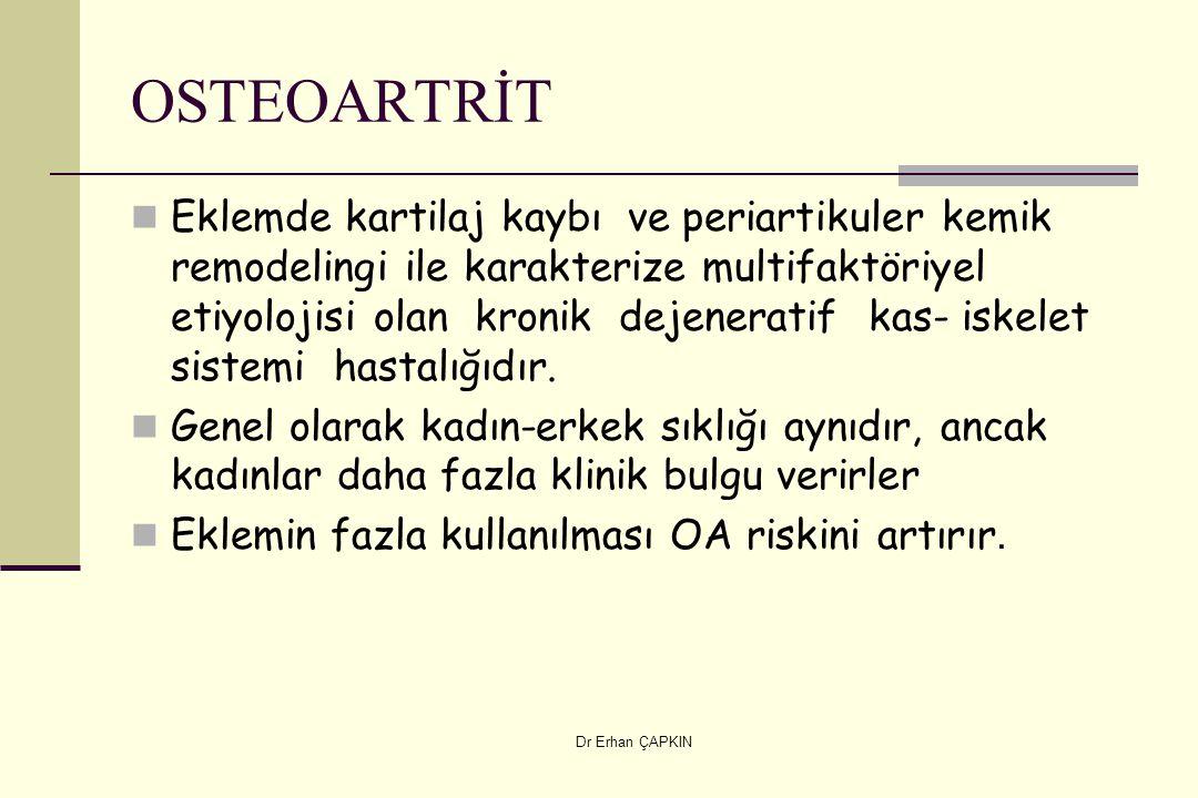 OSTEOARTRİT