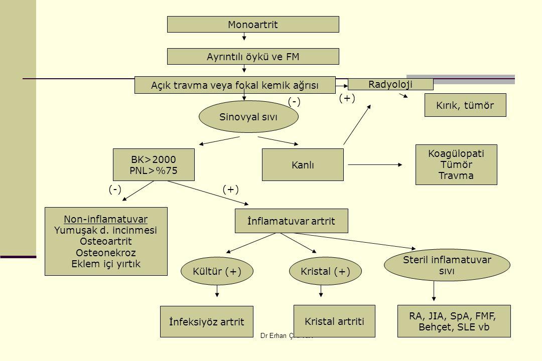 Açık travma veya fokal kemik ağrısı
