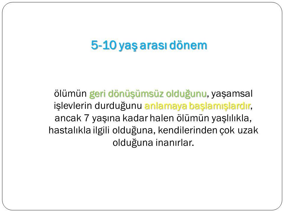 5-10 yaş arası dönem