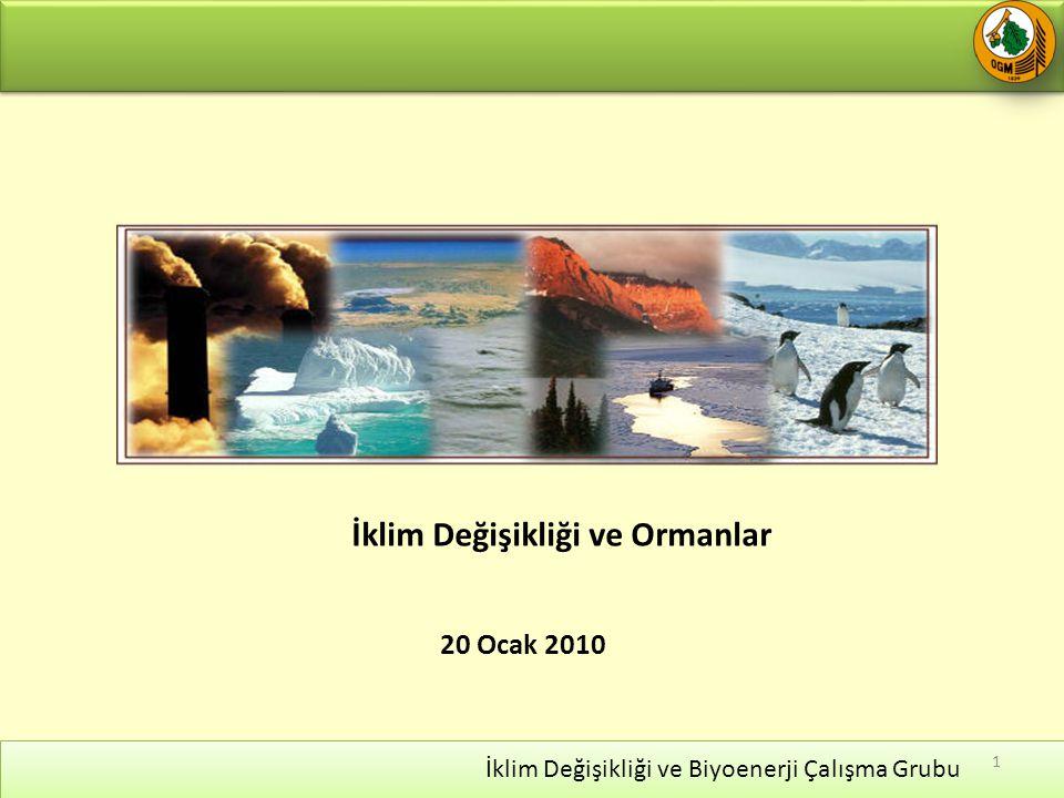 20 Ocak 2010 İklim Değişikliği ve Ormanlar