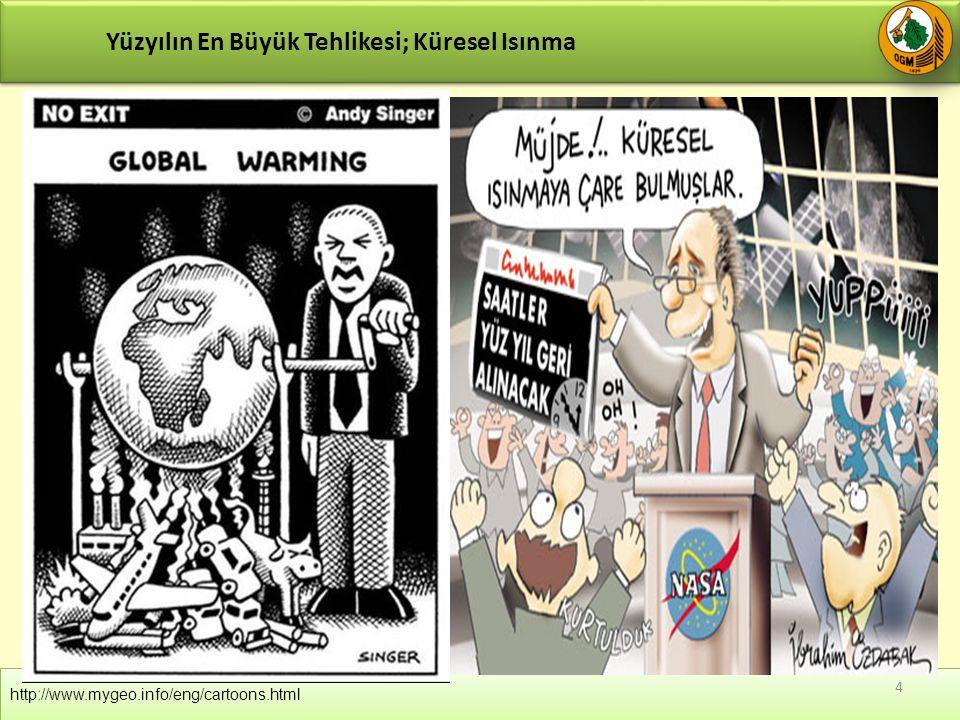 Yüzyılın En Büyük Tehlikesi; Küresel Isınma