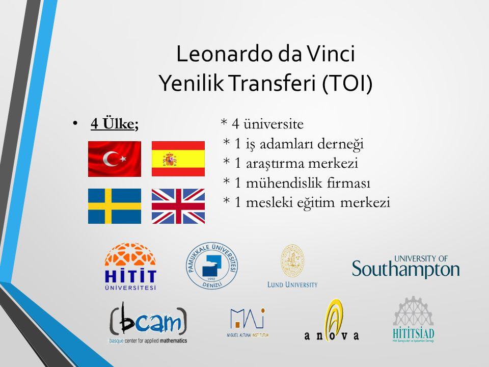 Leonardo da Vinci Yenilik Transferi (TOI)