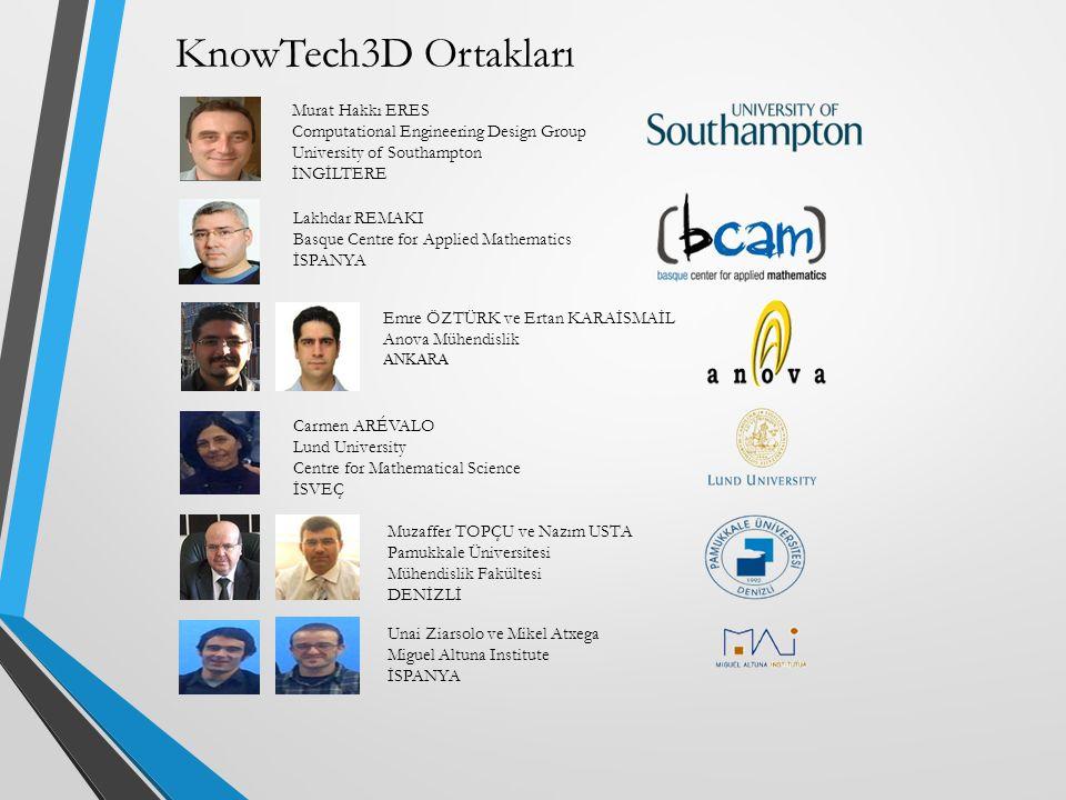 KnowTech3D Ortakları Murat Hakkı ERES