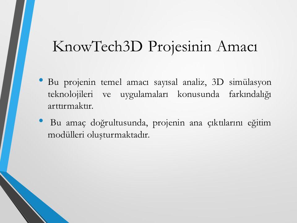 KnowTech3D Projesinin Amacı