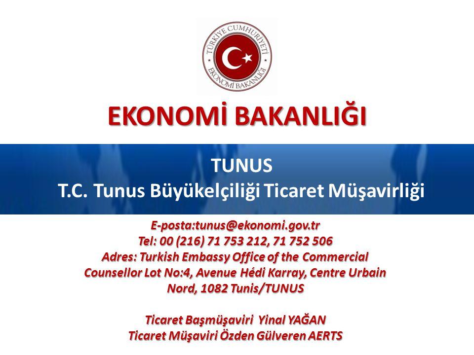 TUNUS T.C. Tunus Büyükelçiliği Ticaret Müşavirliği