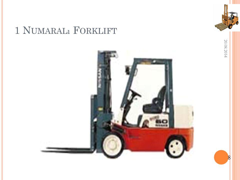 1 Numaralı Forklift 05.04.2017