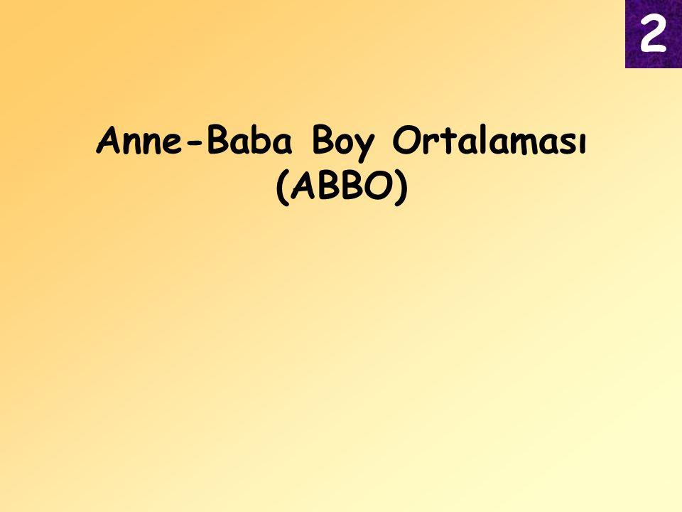 Anne-Baba Boy Ortalaması (ABBO)