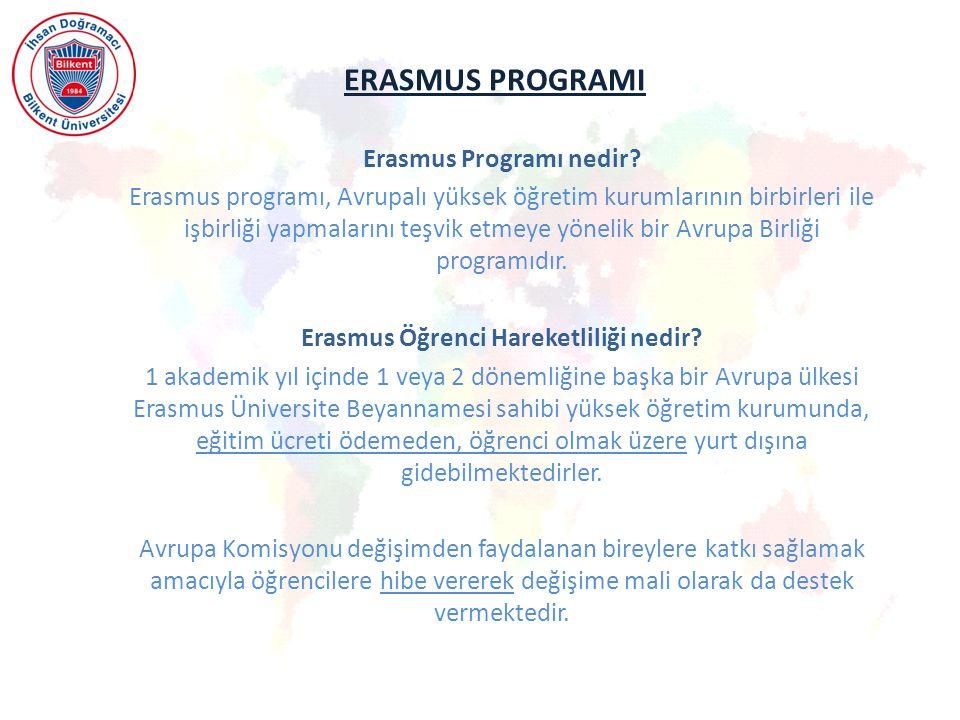 Erasmus Programı nedir Erasmus Öğrenci Hareketliliği nedir