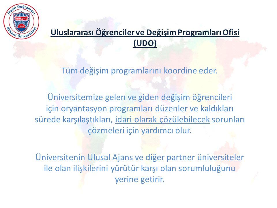 Uluslararası Öğrenciler ve Değişim Programları Ofisi (UDO)