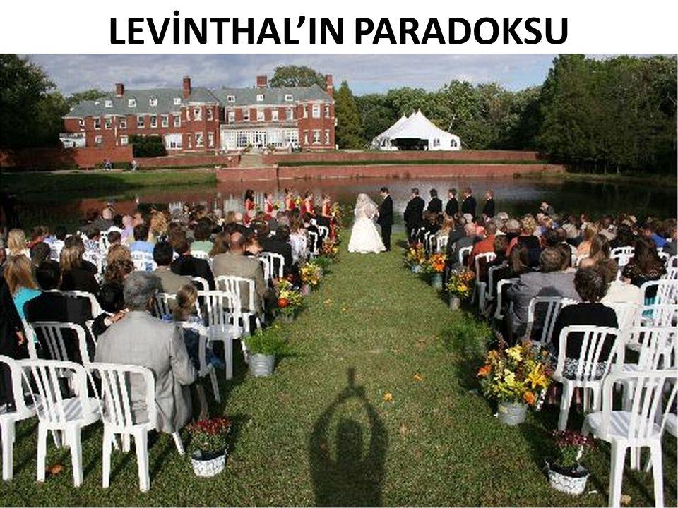 LEVİNTHAL'IN PARADOKSU