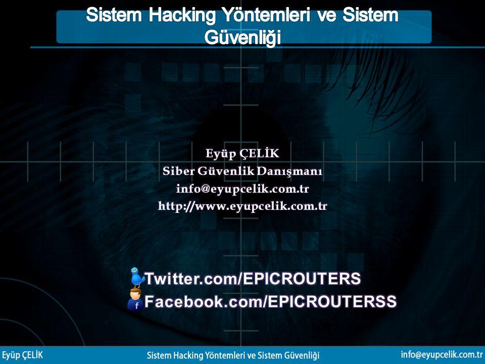 Siber Güvenlik Danışmanı