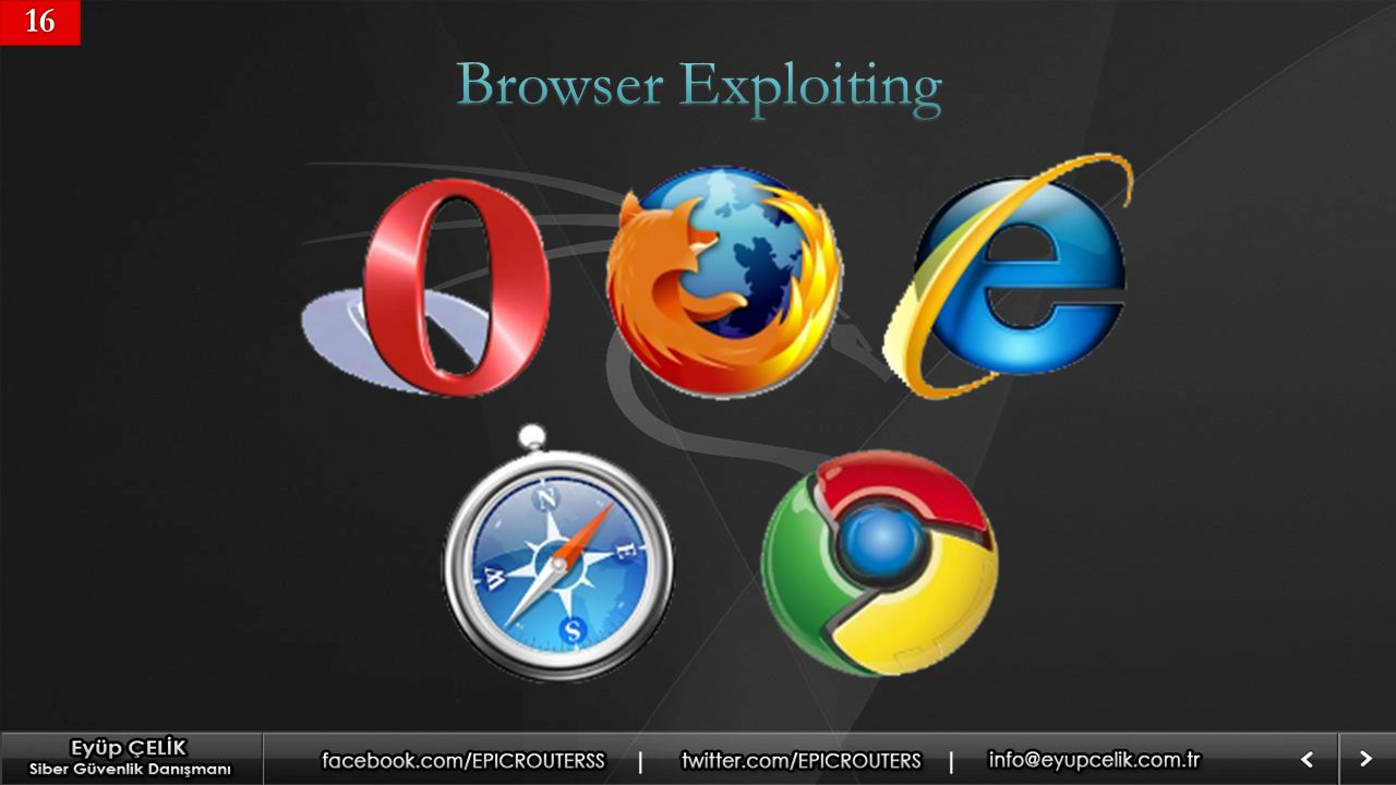 16 Browser Exploiting
