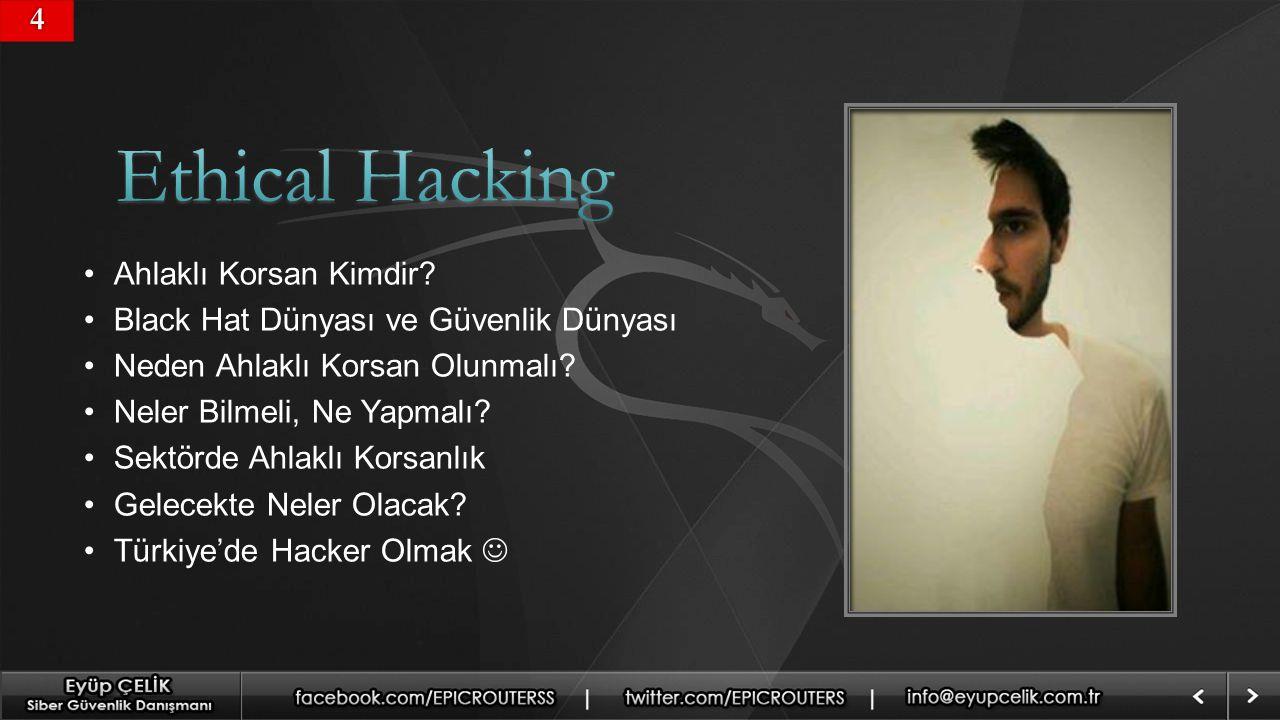 Ethical Hacking 4 Ahlaklı Korsan Kimdir