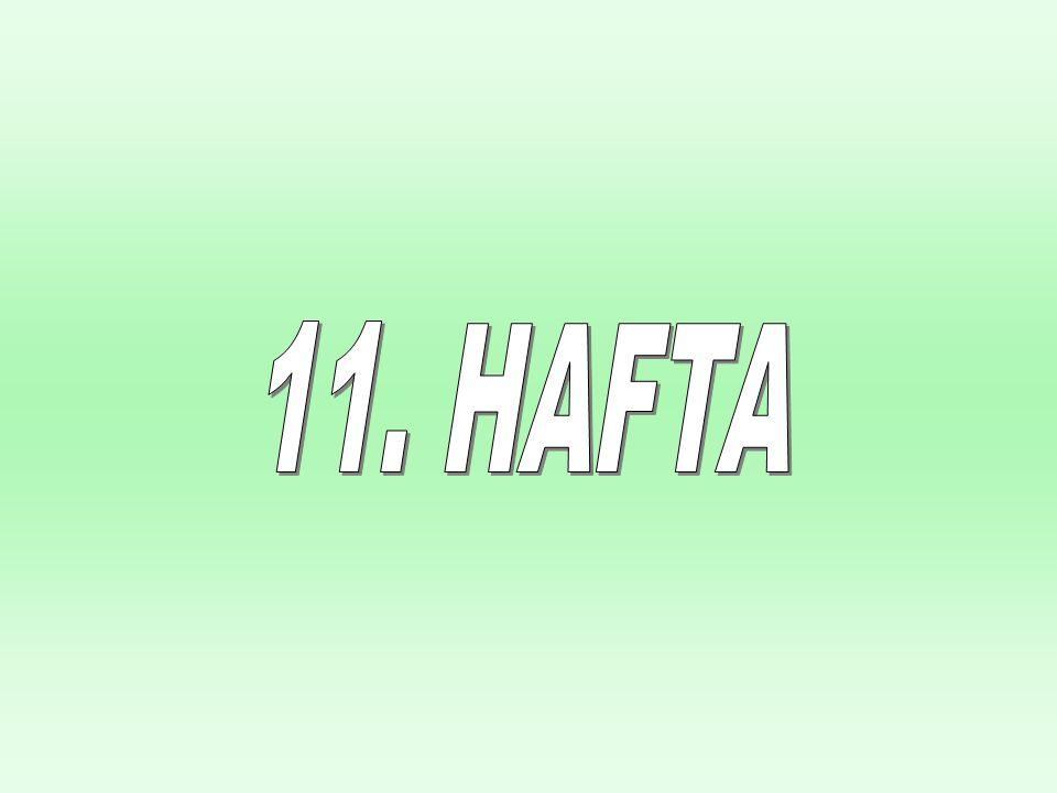 Chapter Seventeen 11. HAFTA