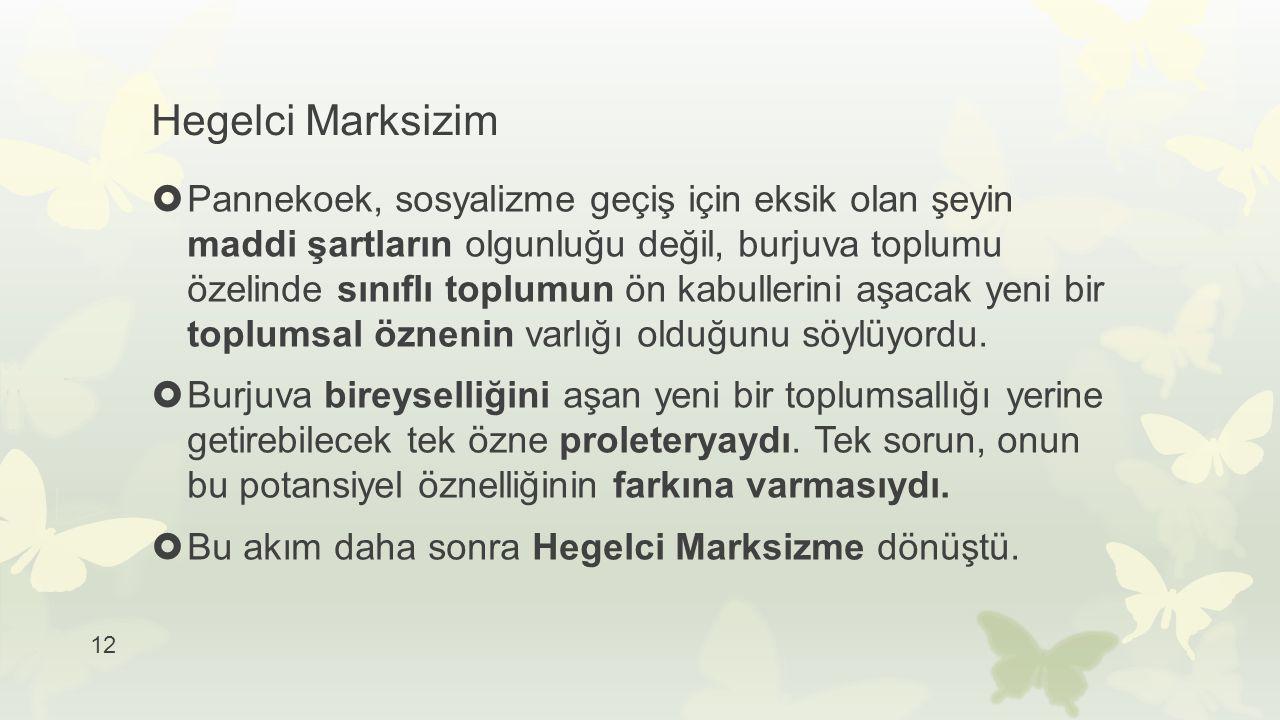 Hegelci Marksizim