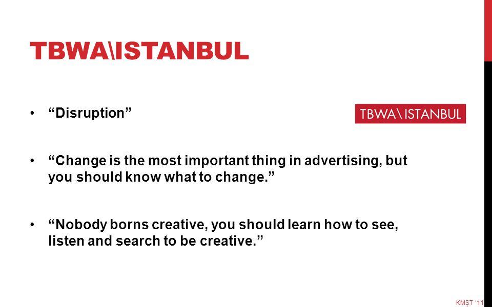 TBWA\ISTANBUL Disruption