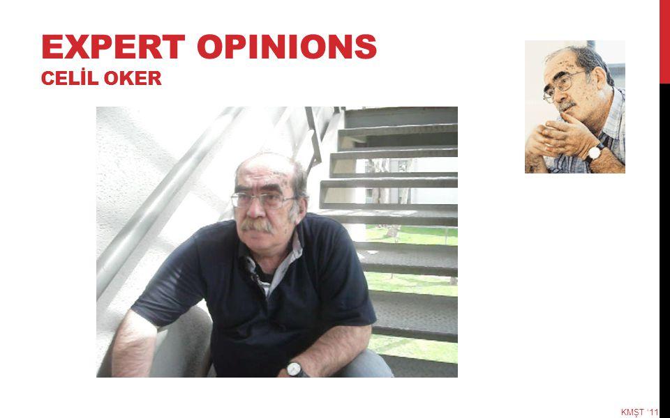 EXPERT OPINIONS CELİL OKER