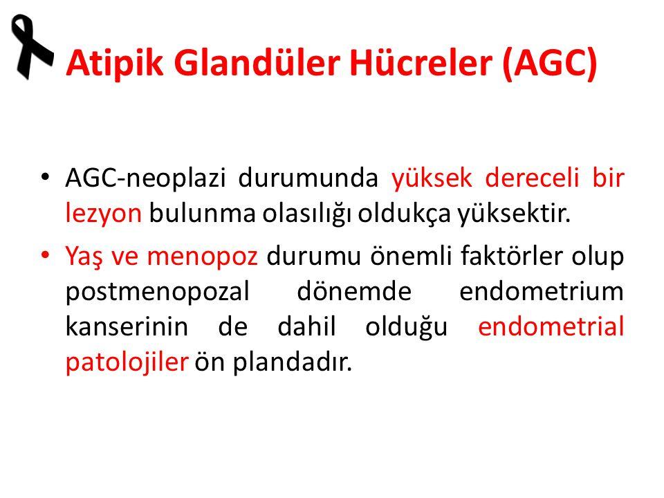 Atipik Glandüler Hücreler (AGC)