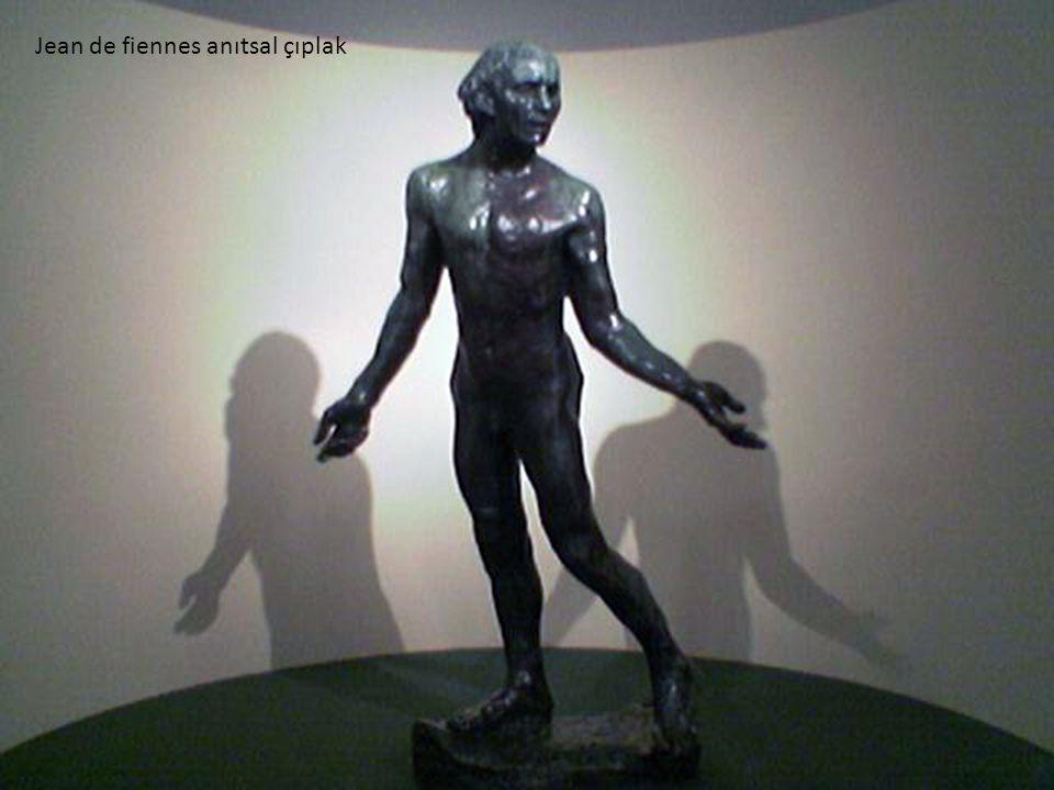 Jean de fiennes anıtsal çıplak