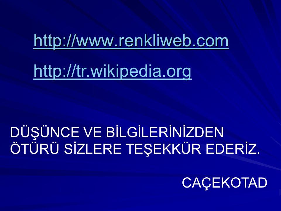http://www.renkliweb.com http://tr.wikipedia.org