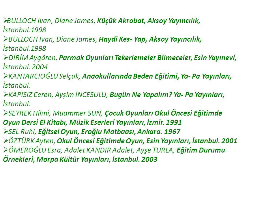 BULLOCH Ivan, Diane James, Küçük Akrobat, Aksoy Yayıncılık,