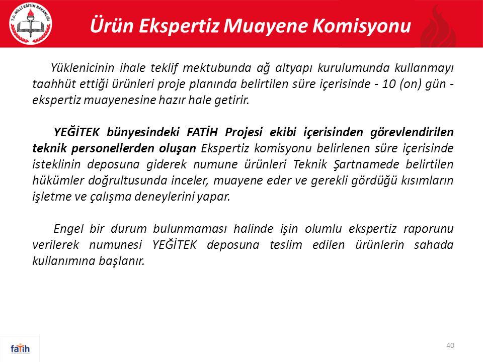 Ürün Ekspertiz Muayene Komisyonu