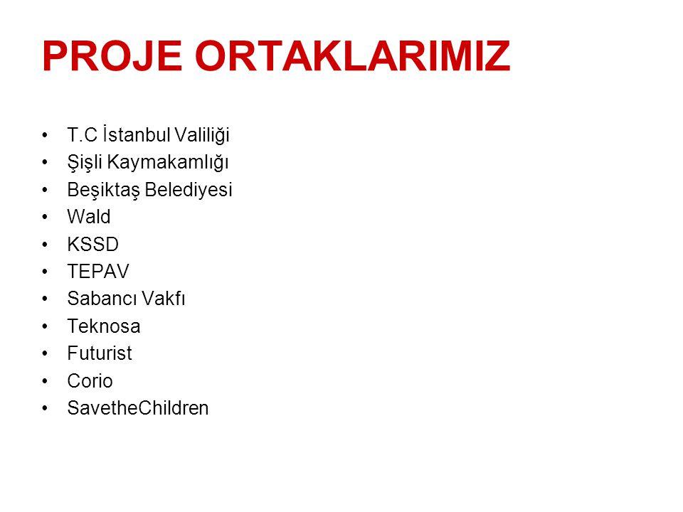 PROJE ORTAKLARIMIZ T.C İstanbul Valiliği Şişli Kaymakamlığı